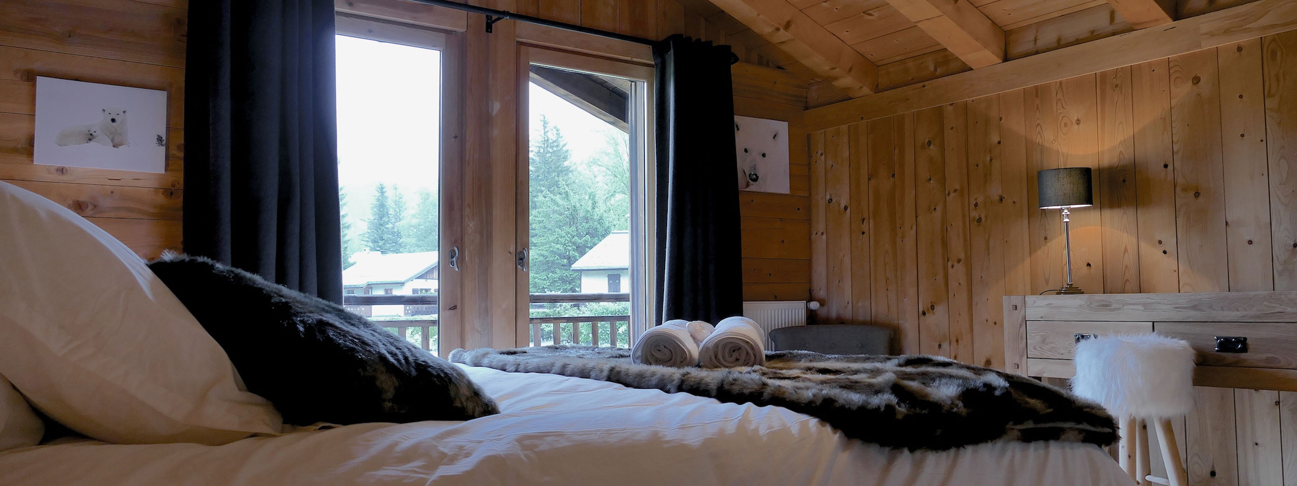 3cimesblanches Chamonix Masterbedroom